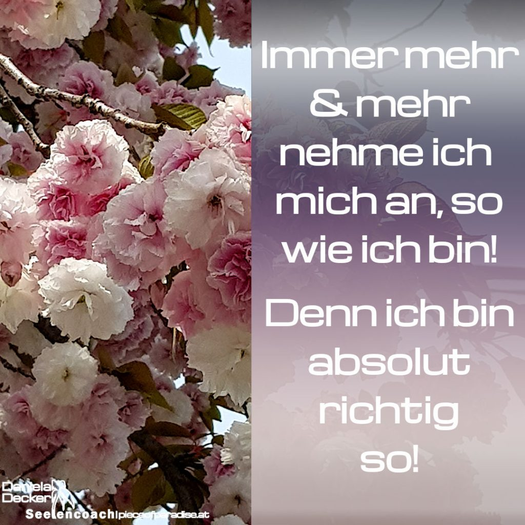 Mantra Selbstliebe